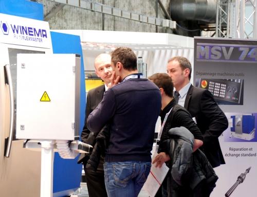 Erfolgreiche Präsentation der WINEMA Rundtaktmaschinen auf der SIMODEC 2016
