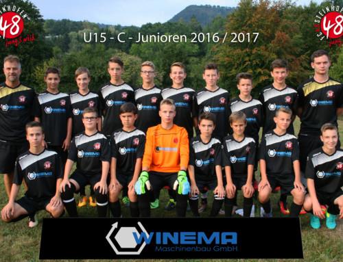 Neuer Trikotsatz für C-Jugend FC48 Steinhofen