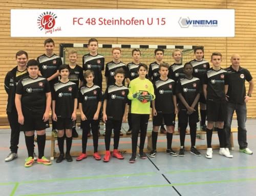 WINEMA unterstützt Jugendarbeit des FC48 Steinhofen